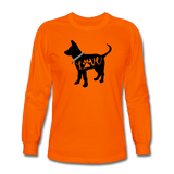 CD Puppy Love Long Sleeve T-Shirt - orange