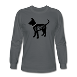 CD Puppy Love Long Sleeve T-Shirt - charcoal