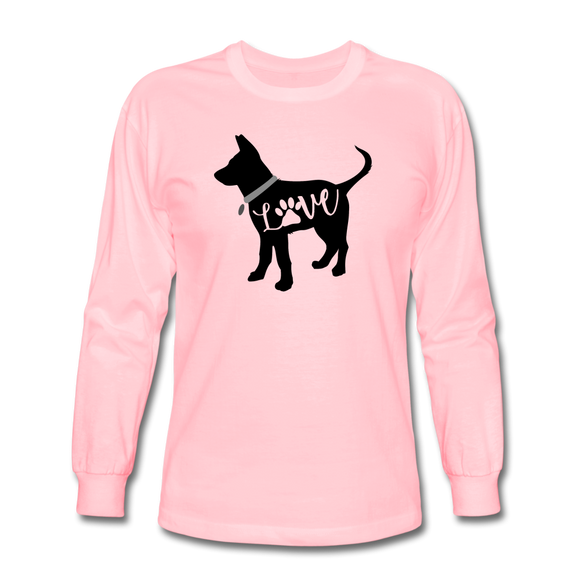 CD Puppy Love Long Sleeve T-Shirt - pink