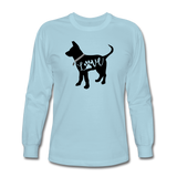 CD Puppy Love Long Sleeve T-Shirt - powder blue
