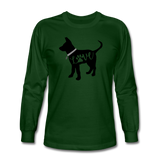 CD Puppy Love Long Sleeve T-Shirt - forest green