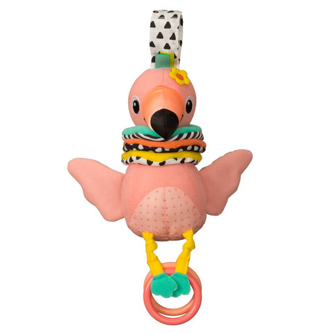 Hug & Tug Musical Flamingo