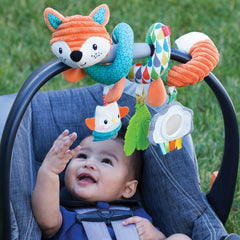 Go Gaga Spiral Car Seat Activity Toy