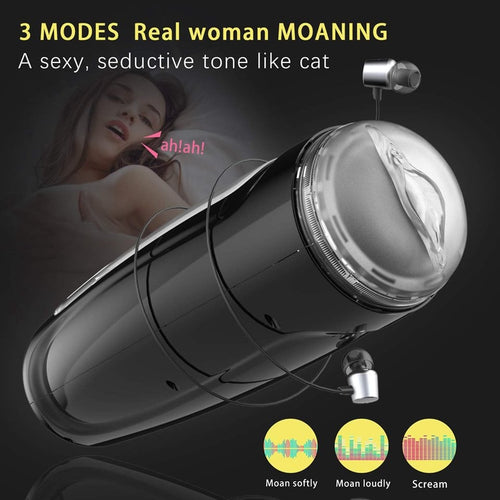 Rechargeable male masturbation cup-Stroking Pleasure - [yiwa_sex toys]