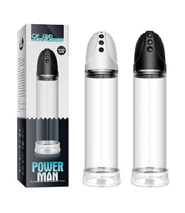 Powerman electric penis pump dildo enlargement pump - [yiwa_sex toys]