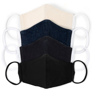 Denim Face Masks (4-Pack)