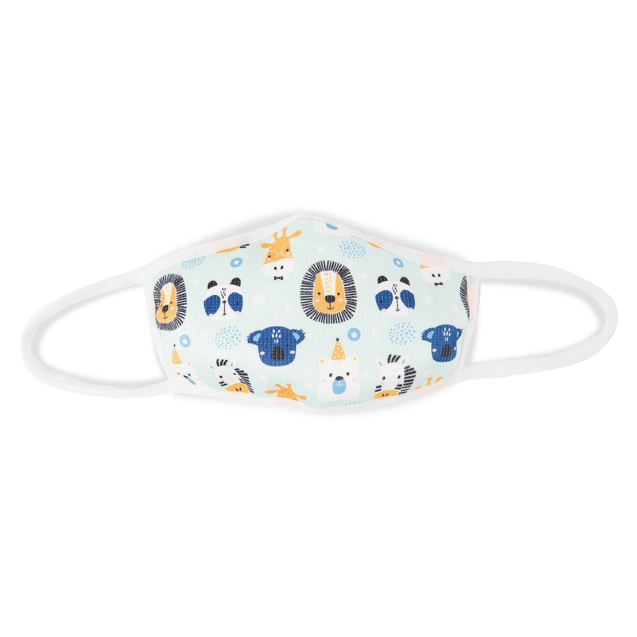Kids' Printed Face Mask — Animals