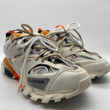 Load image into Gallery viewer, Balenciaga Orange/ White Sneaker