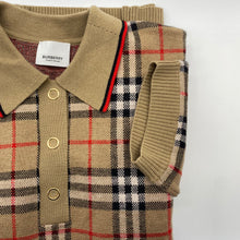 Load image into Gallery viewer, Burberry Brown Polo