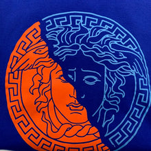 Load image into Gallery viewer, Versace Blue/Orange Tshirt