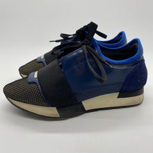 Load image into Gallery viewer, Balenciaga Black/Blue Sneaker