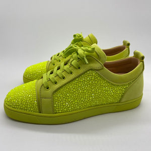 Christian Louboutin  Lime Green Sneakers