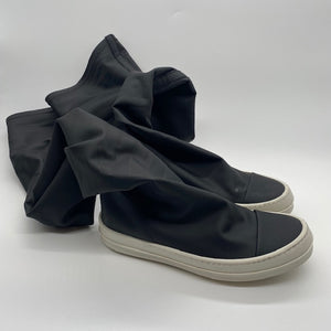 Rick Owens Women's Black Sock  Sneaker