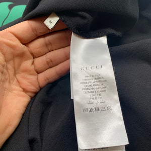 Gucci Black Strawberry Men's Tshirt