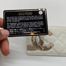 Load image into Gallery viewer, Chanel Ivory Cardholder