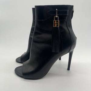 Louis Vuitton Black Booties