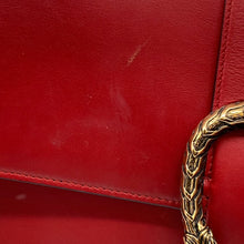 Load image into Gallery viewer, Gucci Red Leather Shoulder Bag