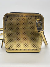 Load image into Gallery viewer, Gucci Gold/Black Crossbody Bag
