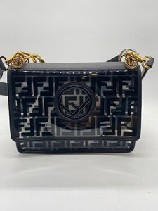 Fendi PVC Black Handbag