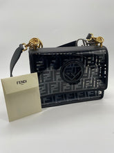 Load image into Gallery viewer, Fendi PVC Black Handbag