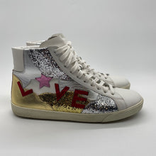 Load image into Gallery viewer, Yves Saint Laurent Glitter White Sneaker