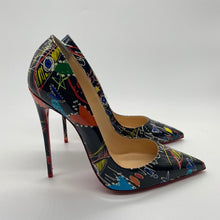 Load image into Gallery viewer, Christian Louboutin Black/Multicolor Heel