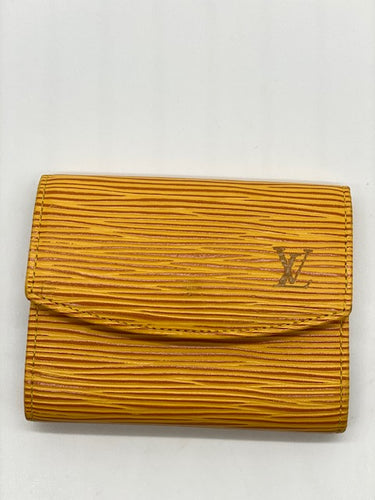 Louis Vuitton Yellow Cardholder