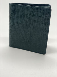 Louis Vuitton Green Bifold Wallet