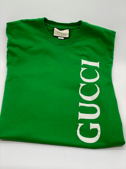 Gucci Green Men's Tshirt