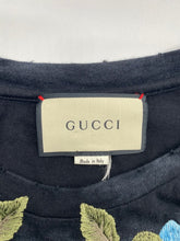 Load image into Gallery viewer, Gucci Black Floral Men's Tshirt