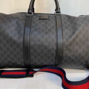 Gucci Black Duffle Bag