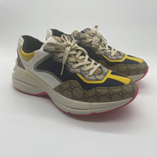 Load image into Gallery viewer, Gucci Pink/Blue/Yellow Sneaker