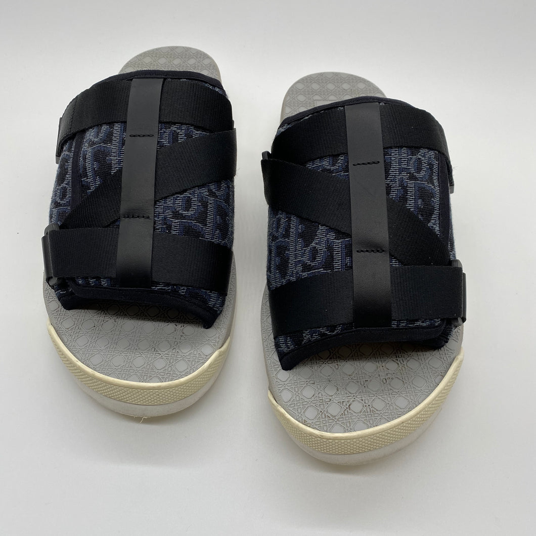 Dior Navy Blue/Black Slide