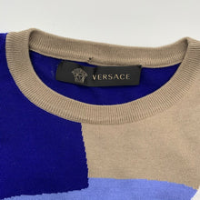 Load image into Gallery viewer, Versace Blue/Grey SweaterShirt