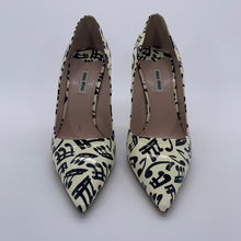 Load image into Gallery viewer, MIU MIU White Heel