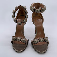 Load image into Gallery viewer, Alaia Metallic Sandal