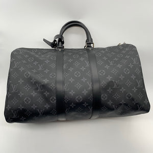 Louis Vuitton Monogram Eclipse Duffle Bag