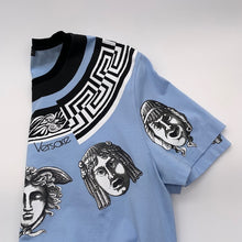 Load image into Gallery viewer, Versace Blue/Black Tshirt