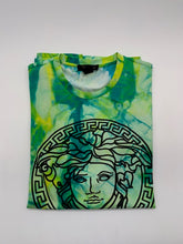 Load image into Gallery viewer, Versace Tiedye Medusa Tshirt