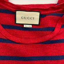 Load image into Gallery viewer, Gucci Red/Blue Men's Tshirt