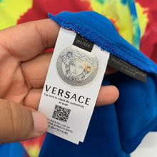 Load image into Gallery viewer, Versace Tiedye Medusa Long-sleeve Shirt