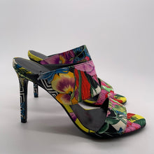 Load image into Gallery viewer, Versace Floral Sandal Heel