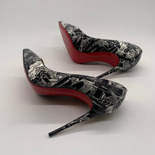 Load image into Gallery viewer, Christian Louboutin Black/ White Heel