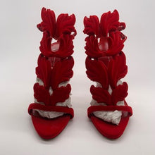 Load image into Gallery viewer, Giuseppe Red Velvet Heel