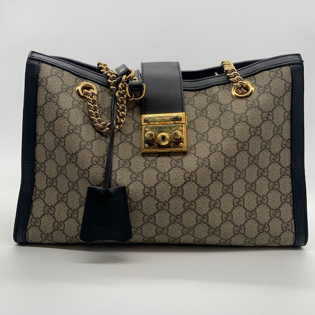 Gucci Black Supreme Shoulder Bag