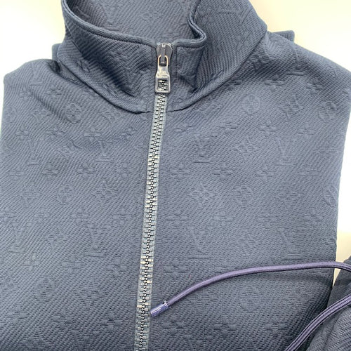 Louis Vuitton Blue Sweat Jacket