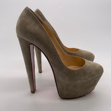 Load image into Gallery viewer, Christian Louboutin Gray Heel