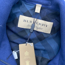 Load image into Gallery viewer, Burberry Navy Trench Coat