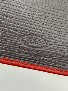 Tod's Red Wallet