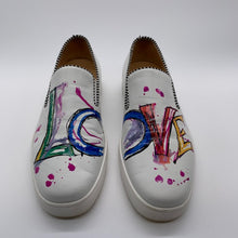 Load image into Gallery viewer, Christian Louboutin White SlipOn Sneaker